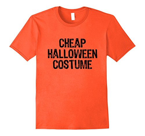 Mens Cheap Halloween Costume Funny T-shirt 2XL (Funny Halloweeen Costumes)