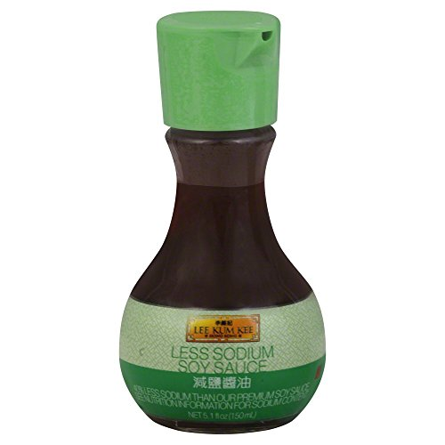 LEE KUM KEE SAUCE SOY TABLE TOP LGHT, 5.1 OZ Pack of 6 (Dark Soy Sauce Vs Regular Soy Sauce)
