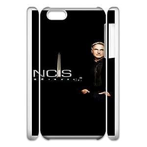 iphone 5C 3D Phone Case White Ncis F6568832