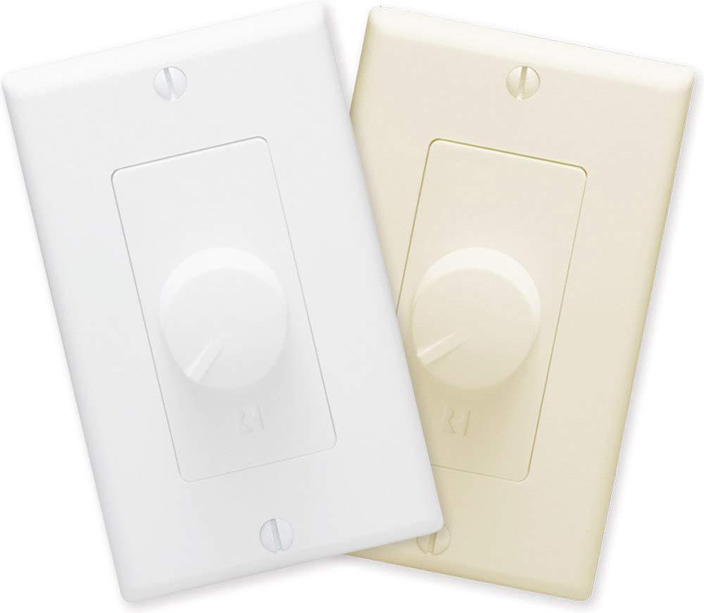 Russound ALT126R Decora Volume Control, White/Light Almond