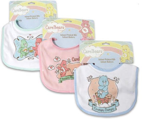 Bib Care Bears Interlock Assorted 144 pcs sku# 917638MA