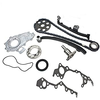 Amazon Com Tk510 New 102 Links Timing Chain Kit For 95 04 Toyota
