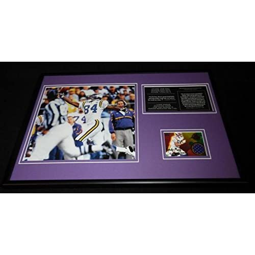 quality design c623b c5ecd 85%OFF Randy Moss Framed 12x18 Game Used Jersey & Photo ...
