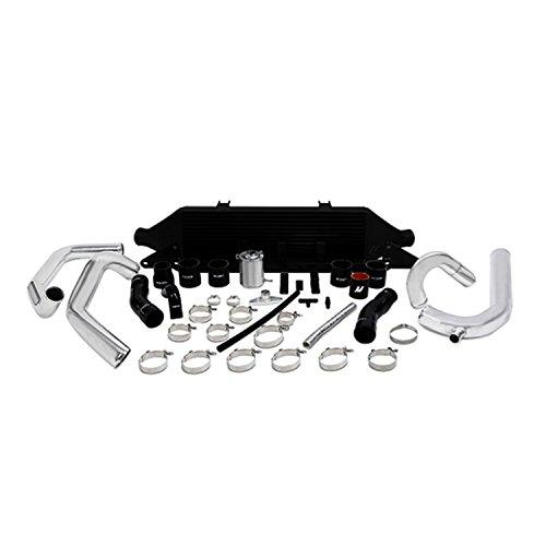 Mishimoto MMINT-WRX-01BK Black Front Mount Intercooler Kit for Subaru (Subaru Front Mount Intercooler)