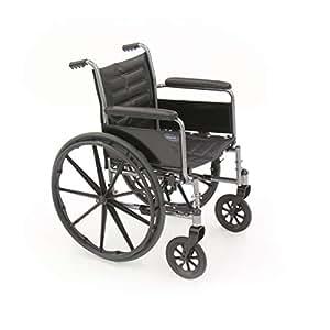 Invacare tracer ex2 silla de ruedas asiento tama o w x d est ndar brazo tipo - Tamano silla de ruedas ...