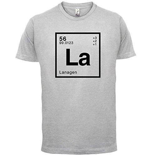 Lana Periodensystem - Herren T-Shirt - Hellgrau - S