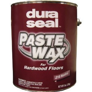 Dura Seal Wood Paste Wax - Neutral - 6 Lb Can by Dura Seal ()