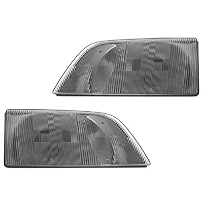 Headlight Headlamp Pair Set for 03-11 Volvo VNL/VNM Truck