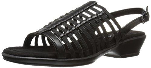 Easy Street Women Allure Huarache Sandal Black