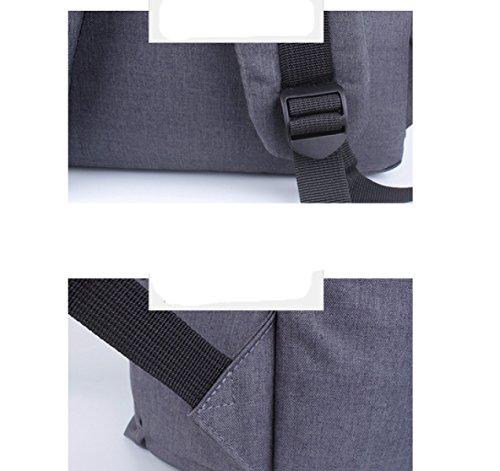 LAIDAYE Herren-Business-Computer Tasche Schultern,绿色-L