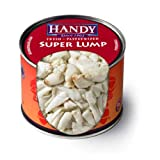 Handy Pelagicus Pasteurized Super Lump Crab Meat, 1 Pound -- 6 per case.