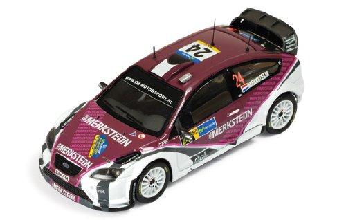 1/43 フォード・フォーカス RS 07 2008年WRCカタルーニャラリー#24 ドライバー:P.Van Merksteijn/E.Berkhof RAM340