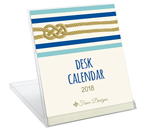 Faux Designs Gift Calendar 2018: Nautical Knot (End Arrangements Faux Floral High)