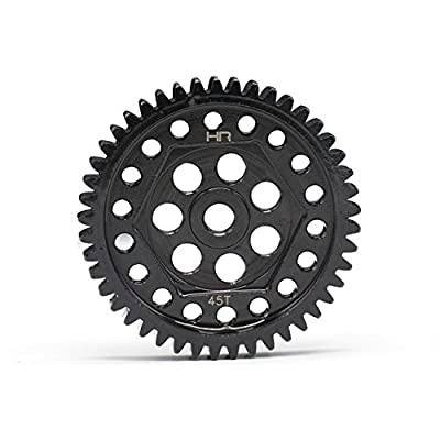 Hot Racing STRXF45M08 45t 32p Steel Spur Gear Traxxas TRX-4: Toys & Games