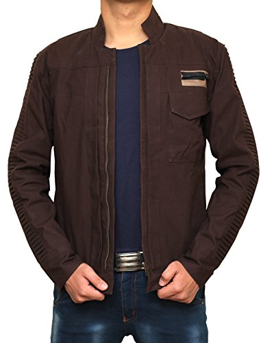 Rogue One Diego Luna Brown Jacket - L