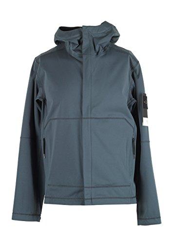 CL - Stones Island 42426 Blue Gray Soft Shell Coat Size L / 50 / 40 U.S.