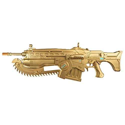 PDP Gears of War 4 Limited Edition Prop Replica Customized Gold Lancer