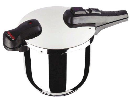 Strauss 10.5 Quart Stainless Steel Pressure Cooker