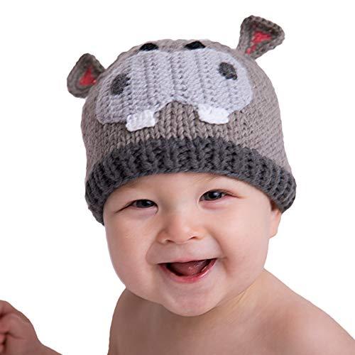 Huggalugs Hippo Beanie M (6-24m) -