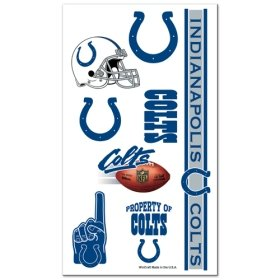 Indianapolis Colts NFL Temporary Tattoos (10 - Of Indianapolis Mall