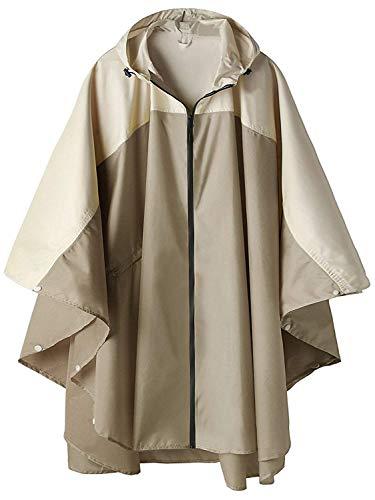 SWISSWELL Women's Waterproof Hooded Jacket Poncho Raincoats