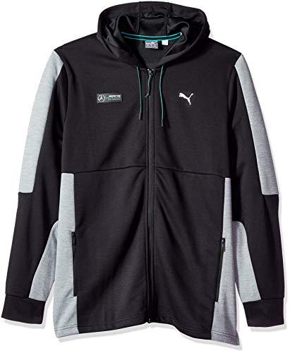 (PUMA Men's Standard Mercedes MAPM Sweat Jacket, Black, X-Large)