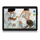 Tablet 10 inch Android 8.1 Oreo,3G Unlocked Phablet with Dual sim Card Slots and Cameras,Tablet PC with WiFi,Bluetooth,GPS (10 inch Android 8.1, Black)