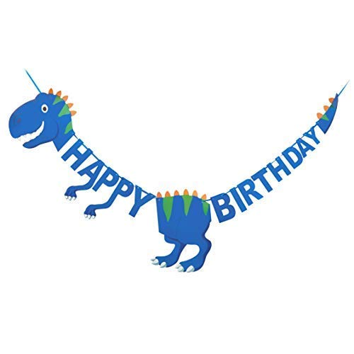Dinosaur Happy Birthday Banner | Pre-Assembled | Dinosaur
