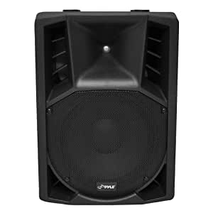 PylePro PPHP158AI 15-Inch 1400-Watt Portable Powered 2-Way Full Range PA Speaker with iPod Dock/USB/SD, Remote, Microphone