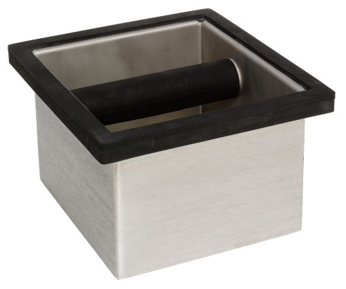 Knock Espresso Box Grounds Spent (Rattleware 6-by-5-1/2-by-4-Inch Knock Box)