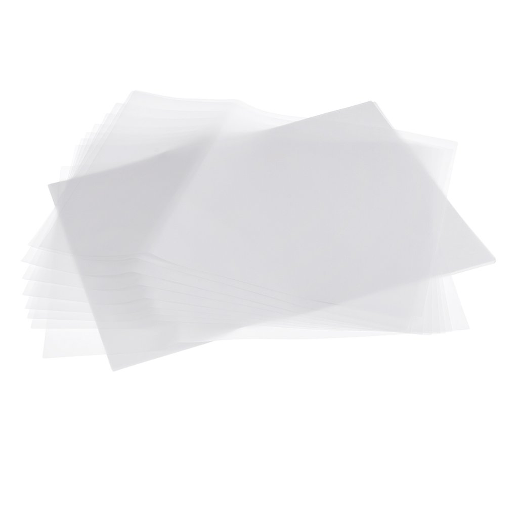 Homyl 20PCS A4 Clear Translucent Tracing Paper Copy Sheets for Drawing Accessories