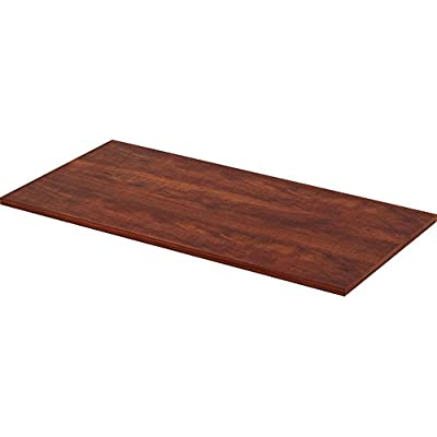 lorell-utility-table-top-cherry