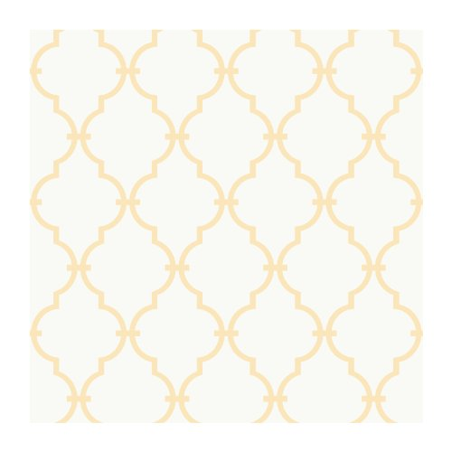 York Wallcoverings YS9103 Peek-A-Boo Graphic Trellis Wallpaper - Peek A-boo Papers