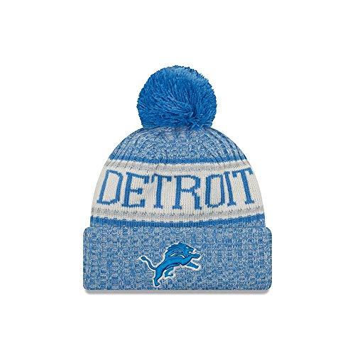 9f3e24f952e New Era Detroit Lions On Field 2018 Sport Knit Hat