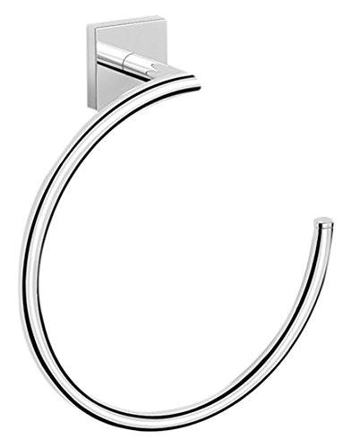 Nameeks NNBL005 Nice Hotel Polished Towel Ring, Chrome by Nameeks