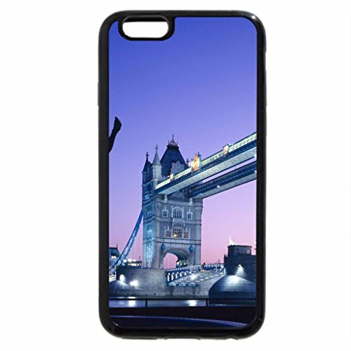iPhone 6S / iPhone 6 Case (Black) Tower Bridge:Evening