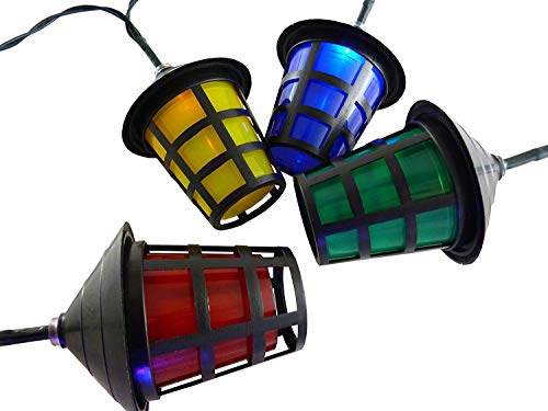 Coloured Garden Lighting in US - 5