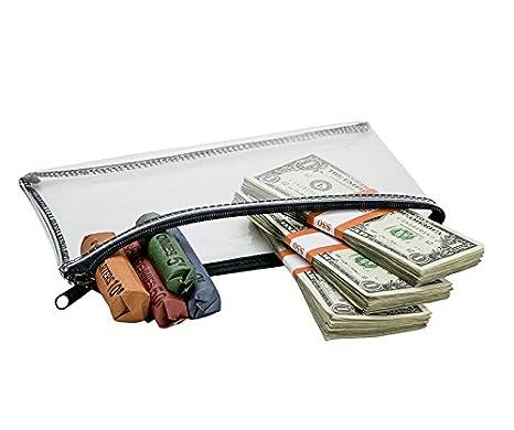 Amazon.com: Dinero en efectivo bolsa, bolsa de monedas ...