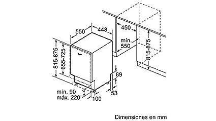 Balay 3VT305NA Totalmente integrado 9cubiertos A+ lavavajilla - Lavavajillas (Totalmente integrado, White,Not applicable, Tamaño completo (60 cm), ...