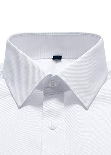 Francesi Da Con Metallo Regolare ver Lunga Polsini Gemelli Manica Uomo Vestibilità Camicia J Bianca In Camicie cq61aYnE