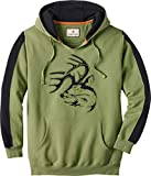 Legendary Whitetails Men's Blackout Outfitter Hoodie Epsom Large