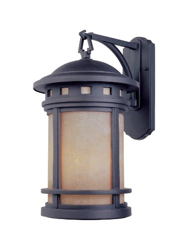 Designers Fountain 2371-AM-ORB Sedona 7 Inch Wall Lantern