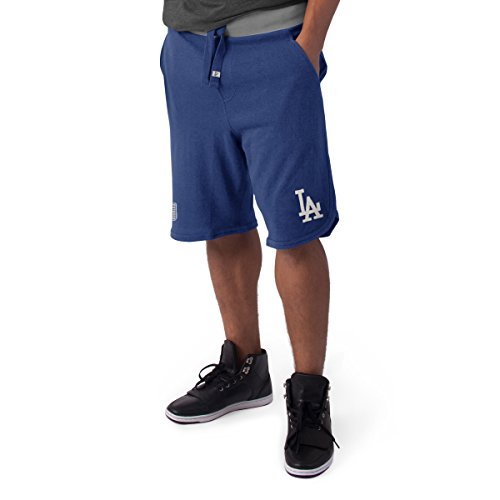 Short Los Dodgers Angeles (MLB Los Angeles Dodgers Men's '47 Post Up Shorts, Small, Bleacher Blue)