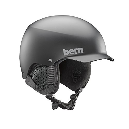 Bern Baker Matte - Bern Baker 8Tracks Audio Helmet 2019 - Medium/Matte Black