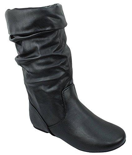 Length Black Leather - 9