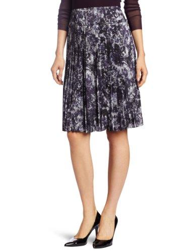 Jones New York Women's Pleated Skirt, Multi, 4 (New Skirt York Pleated)