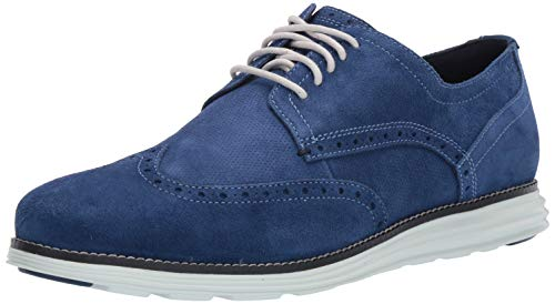Cole Haan Men's Original Grand Shortwing Oxford Peony/Navy Ink/Morning Mist, 16 M US ()