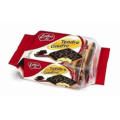 Lotus - Galleta De Chocolate Belga Dulce 296G - Tendre Gaufre Au Chocolat Belge 296G - Precio Por Unidad - Entrega Rápida: Amazon.es: Alimentación y bebidas
