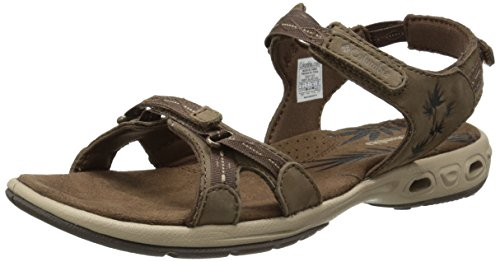 Columbia Kvinners Kyra Ventilere Sandal Mørkebrun / Oxford Tan