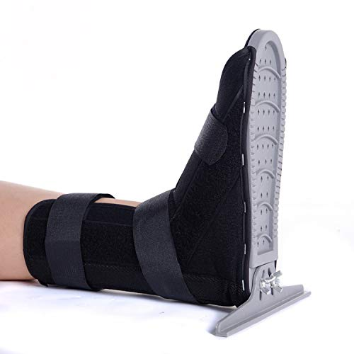 Ankle Brace Ankle Support Lightweight Medical Walking Boot for Ankle Sprains Night Splints for Plantar Fasciitis (S)